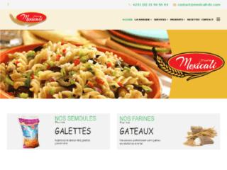 SARL MEXICALI:farine, semoule, pâtes alimentaires DORY