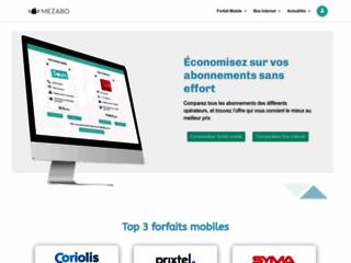 Mezabo - Comparateur de forfaits mobile et box
