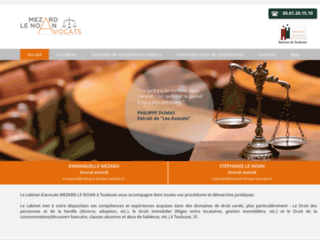 Détails : Avocat droit commercial Toulous - Mézard Le Noan