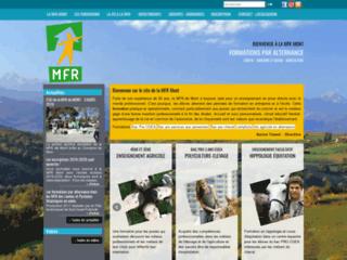 Formations métiers du cheval et agricoles : MFR Mont