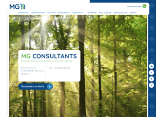 Détails : MG Consultants : solutions RH sur mesure