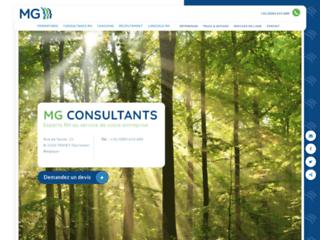 Détails : MG Consultants : solutions sur mesure en ressources humaines (RH)