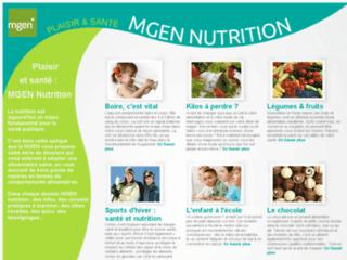 Détails : MGEN : Dossiers nutrition