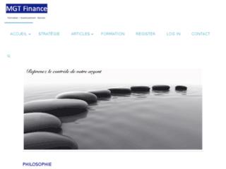 MGT Finance, formation investissement, construire son patrimoine, générer des rentes