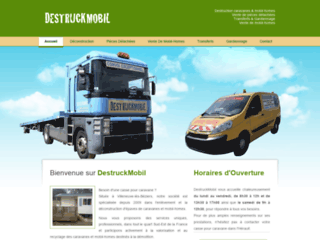 Détails : DestruckMobil, enlèvement caravanes & mobil-homes