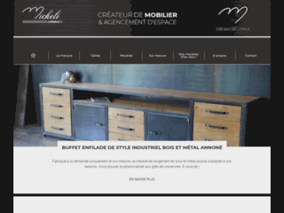 Détails : Micheli Design : Créateur de meubles industriels