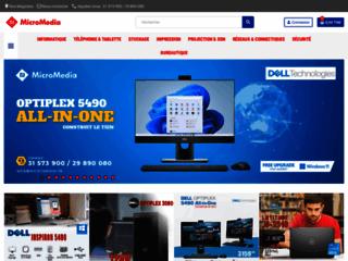 Détails : Micromédia : vente de PC portable en Tunisie