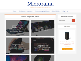 Microrama, le monde de l'High Tech, de l'iformatique et des gamers