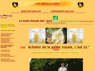 Les Miels d'Uzès Gelée royale bio française