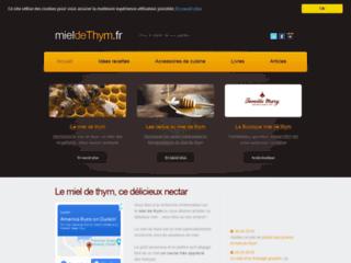 Détails : Guide du miel de thym, ce délicieux nectar des abeilles