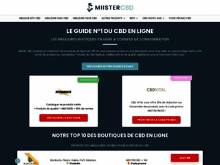 Miister CBD : le guide d'achat pour trouver des produits au cannabidiol Bio sur internet