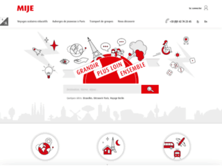 Détails : Mije : voyages scolaires et auberges de jeunesse Paris