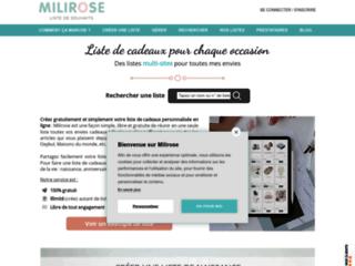 Liste de naissance Milirose