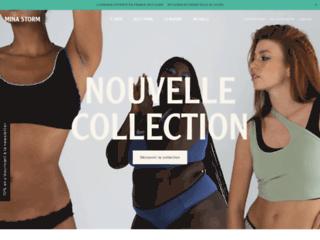 Détails : Boutique en ligne de vente de lingerie féminine