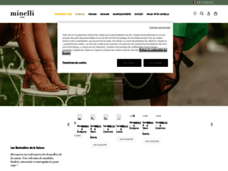 Détails : Minelli, chaussures et accessoires pour femmes