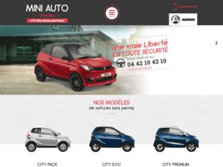 Location et livraison de véhicules sans permis à Vitrolles 13, Mini Auto