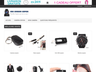 Mini camera espion à petits prix