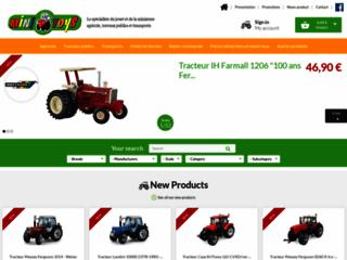 Mini Toys : boutique spécialisée en miniature agricole, du BTP et du transport