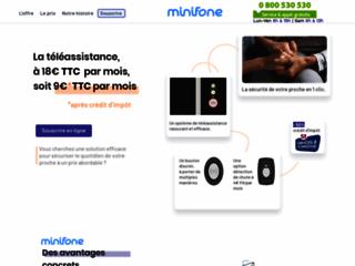 Détails : Minifone : système de téléassistance pour personnes âgées