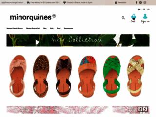 Détails : Le spécialiste de la vente de chaussures espagnoles, Minorquines
