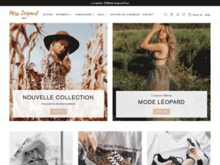 Miss Léopard : Marque de Prêt-à-porter Femme