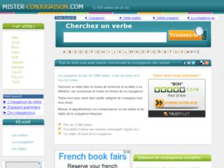 Détails : La conjugaison française