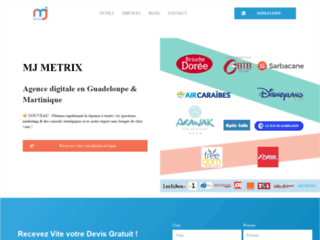 Agence digitale MJ Metrix