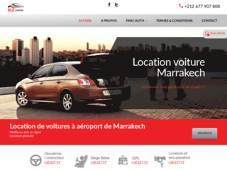 Location de voitures à Marrakech