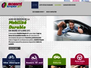 Mobilité Emploi 37 - Location solidaire d'un véhicule en Touraine