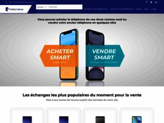 Détails : Mobilorama, boutique de revente et d'achat de portables