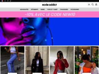 Mod' Addict, vente en ligne de vêtements
