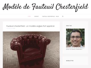 Modèle de Fauteuil Chesterfield - Tout sur le fauteuil Chesterfield