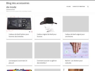 Détails : Blog mode