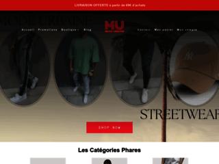 Détails : Mode Urbaine, large choix de jean homme et de vêtements hommes
