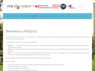 MoDyCo Modèles Dynamiques Corpus UMR 7114
