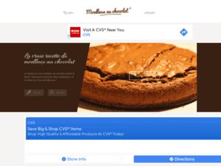 Détails : Gâteau au chocolat