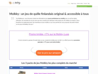 Mölkky, jeu de quille en bois