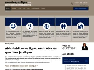 Détails : Aide juridique - Avocat en ligne
