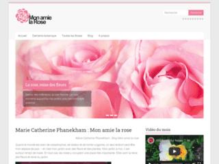 Mon amie la rose de Marie Catherine Phanekham