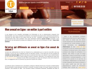 Question juridique : avocat en ligne