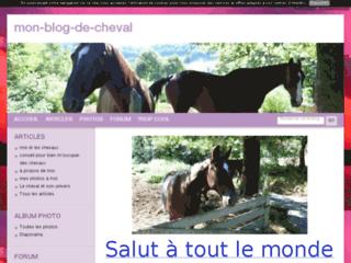 Mon blog de cheval