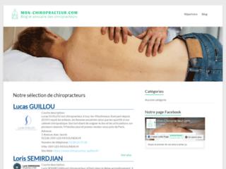 Mon Chiropracteur : la plateforme adéquate pour des  soins adaptés