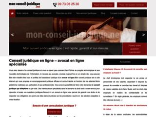 Conseils juridiques en ligne confidentiels