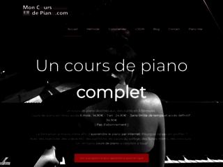 Détails : Apprendre le piano par internet - Cours de piano