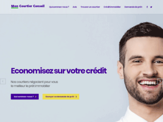 Portail internet pour l'obtention de vos crédits