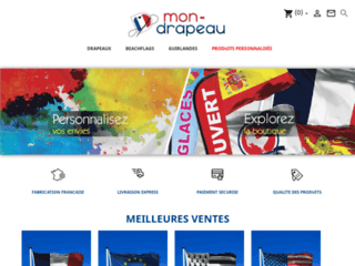 Détails : Mon drapeau, vente de drapeaux