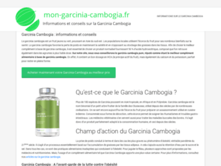 Pour tout savoir sur le garcinia cambogia