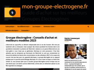 Le site mon groupe électrogène