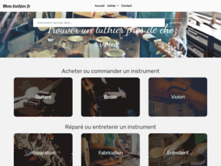 Mon luthier.fr