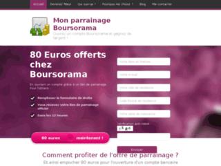 Détails : Mon parrainage Boursorama